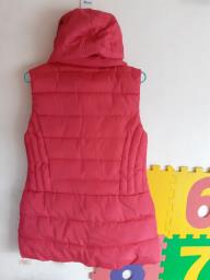 99 new  thick vest with hood image 2