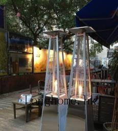 Stainless Steel Flame Gas Patio Heater image 1