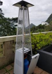 Stainless Steel Flame Gas Patio Heater image 4