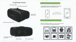 Vr Headset with packing and manual image 3