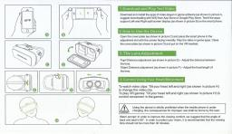 Vr Headset with packing and manual image 4