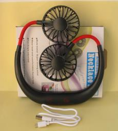 Necklace Fan with built in rechargeable image 3