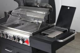 6-burner Swiss Grill Bbq with cover image 1