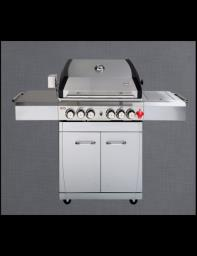 6-burner Swiss Grill Bbq with cover image 5