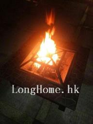 Fire pit with poker and cover image 6
