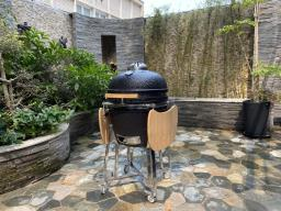 Kamado Ceramic Charcoal Bbq Grill image 1