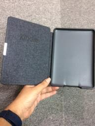 Leather cover for kindle paperwhite image 1