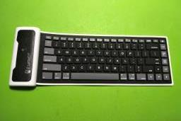 Bluetooth Soft Silicon Keyboard for Ipad image 1
