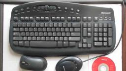 Wireless Microsoft Keyboard  Mouse image 1