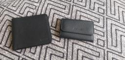 Bally Black Leather Wallet Set image 1