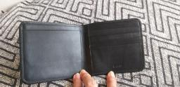 Bally Black Leather Wallet Set image 2