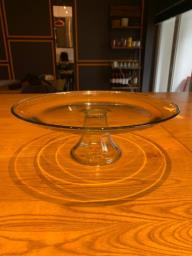 Glass Cake Stand with Dome image 3