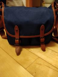 Blue Camera Bagsling Bag - Logon image 1