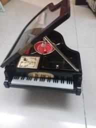 Piano Music Box with Ballerina Dancing image 1