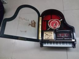 Piano Music Box with Ballerina Dancing image 2