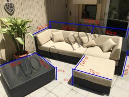 Outuoor Sofas Set For Sale image 6
