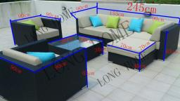 Outuoor Sofas Set For Sale image 7
