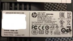 Hp T620 Thin Client image 3